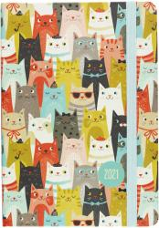 2021 Cats 16-Month Planner