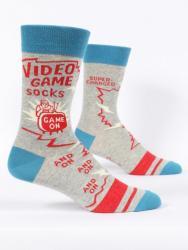Video Game Socks Men's Crew Fit