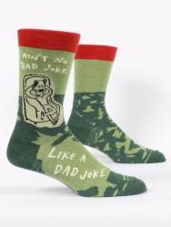 Ain't No Bad Joke Like a Dad Joke Socks