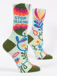Stop Talking Socks Women's Crew Fit