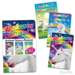 Enchanted Unicorns Notebook Set
