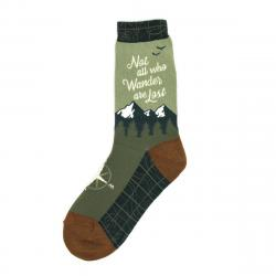 Not All Who Wander Are Lost Socks