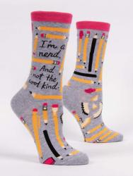 I'm A Nerd And Not The Cool Kind Socks