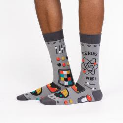 Genius At Work Socks