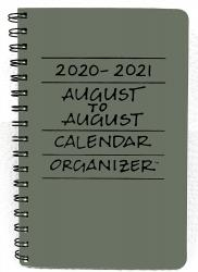2021 August to August Planner