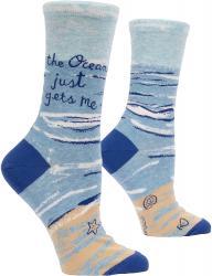 The Ocean Just Gets Me Socks