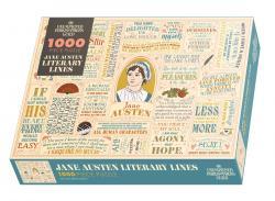 Jane Austen Literary Lines 1000 Piece Puzzle in Box