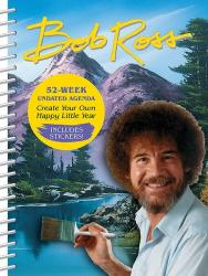 Bob Ross Undated Agenda - front