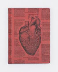 Front cover of Anatomical Heart Notebook