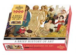A Brief History of Art 1000 Piece Puzzle in Box