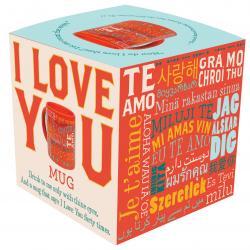 I Love You Mug in box