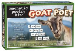 Goat Poet Magnetic Poetry Kit