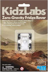 Zero-Gravity Fridge Rover in packaging