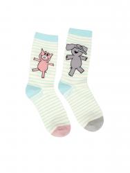 Elephant and Piggie Socks