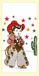 Little Cowgirl Dishtowel