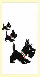 Scottie Dog Dishtowel