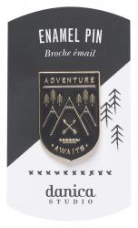 Adventure Awaits Enamel Pin