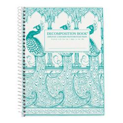 Peacocks Decomposition Spiral Notebook
