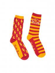 Gryffindor Socks Adult Crew