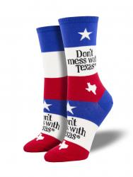 Women's Don't Mess With Texas Socks