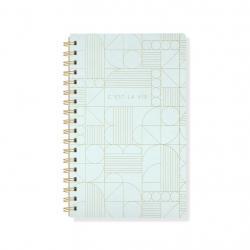 Art Deco C'est La Vie Notebook