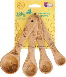 Honeybee Wooden Measuring Spoon Set