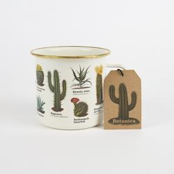 Botanica Cacti & Succulents Enamel Mug
