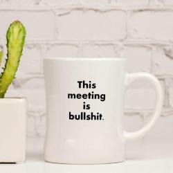 This Meeting is Bullshit Mug