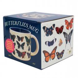 Butterflies Mug in box