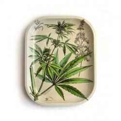 Cannabis Metal Ritual Tray