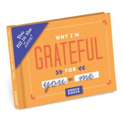 Why I'm Grateful For You Fill In The Blank Book