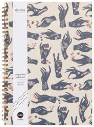Show of Hands Spiral Notebook