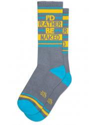 I'd Rather Be Naked Socks