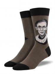 Men's RBG Ruth Bader Ginsberg Portrait Socks