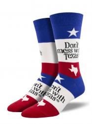 Men's Don't Mess With Texas Socks