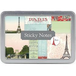 Paris Sticky Note Set in tin