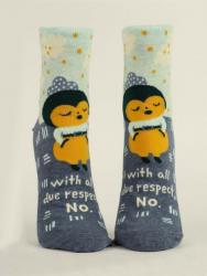 With All Due Respect Socks