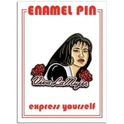 Selena Viva la Mujer Enamel Pin