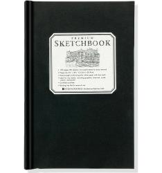 Small Black Premium Sketchbook
