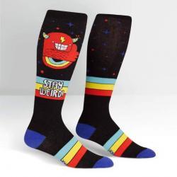 Stay Weird Stretch-It Knee High Socks