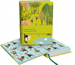 Yoga in the Park Journal with Illustrated Pages