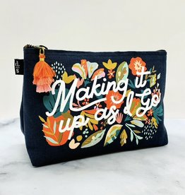 Superbloom Small Cosmetic Pouch