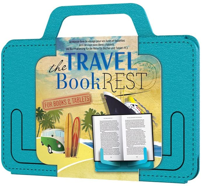 Travel Book Rest in Blue