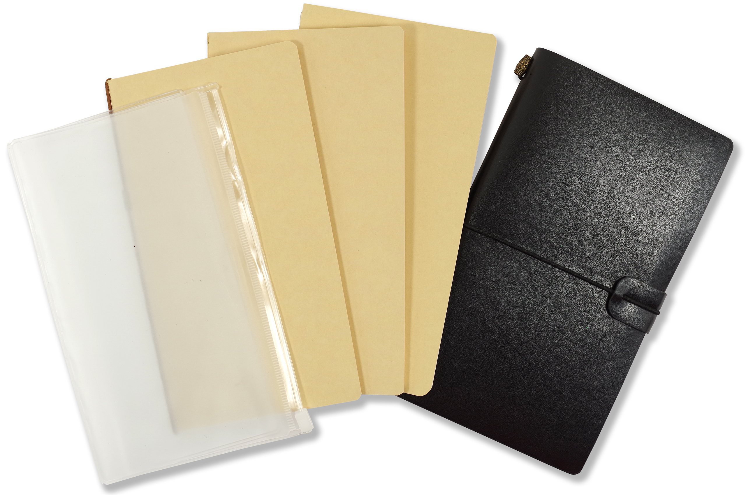 Inserts included with Voyager Notebook