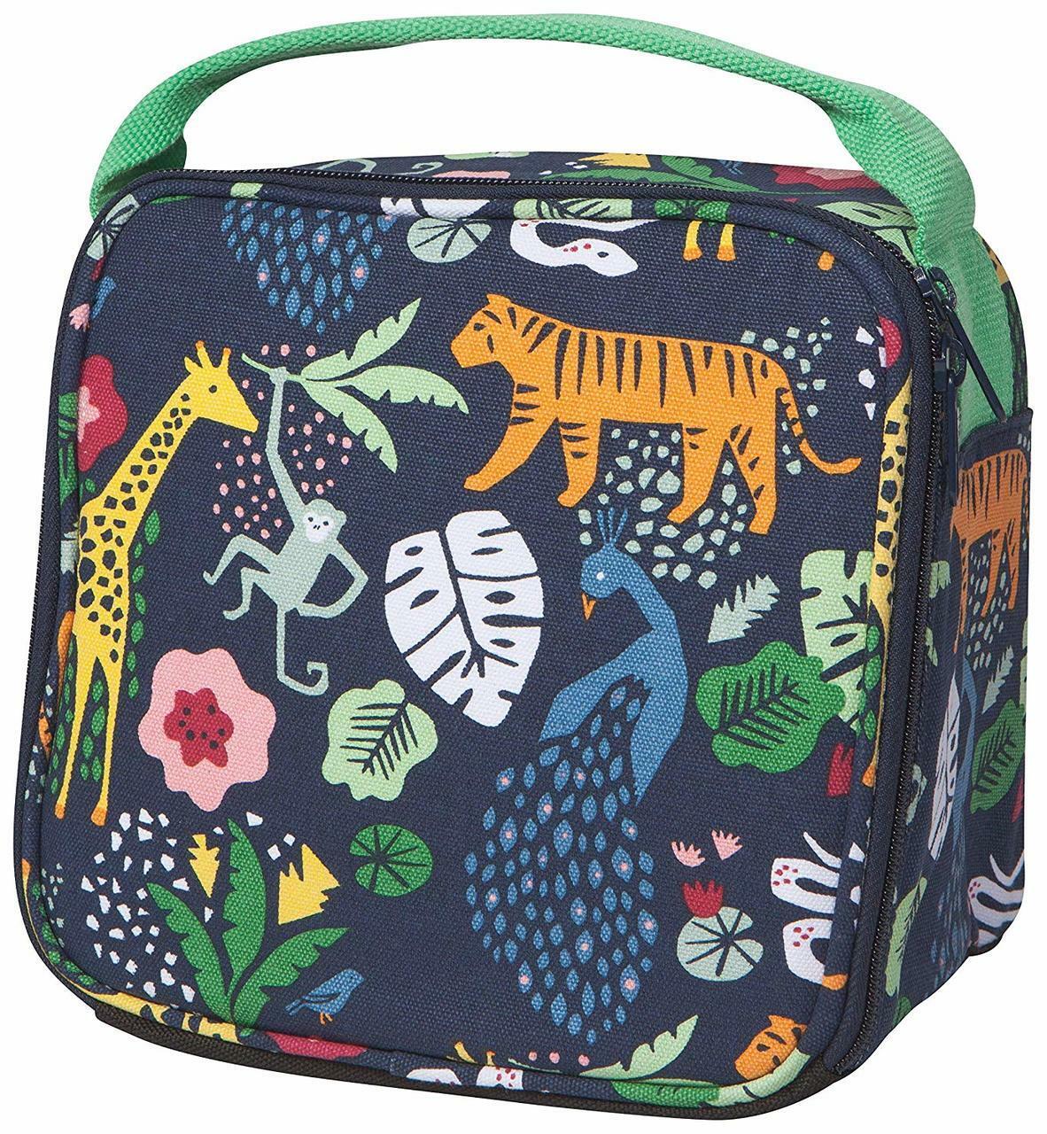 Wild Bunch Animals Lunch Bag (exterior view)