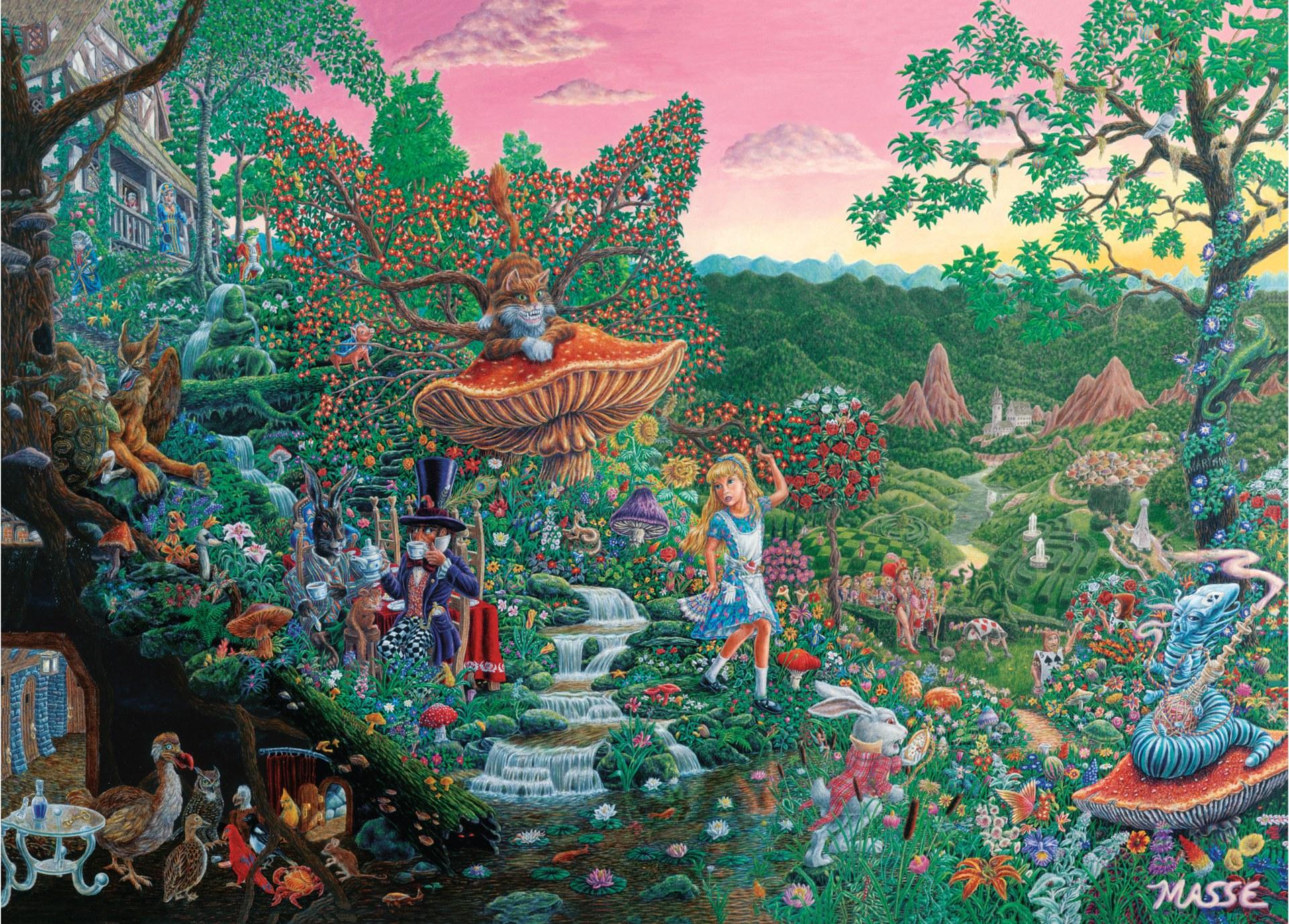 Wonderland Jigsaw Puzzle image